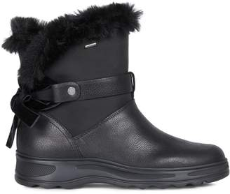 Geox Amphibiox Hosmos Faux Fur-Lined Winter Boots