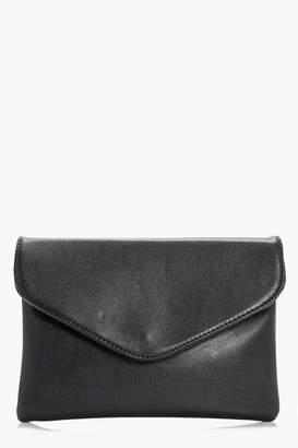 boohoo Josie Envelope Clutch Bag