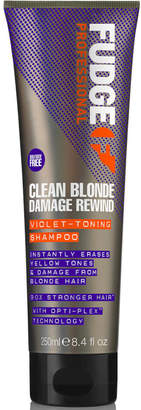 Fudge Professional Fudge Clean Blonde Damage Rewind Shampoo 250ml