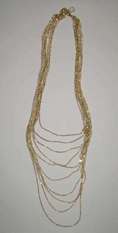 Ten Layer Chain Necklace
