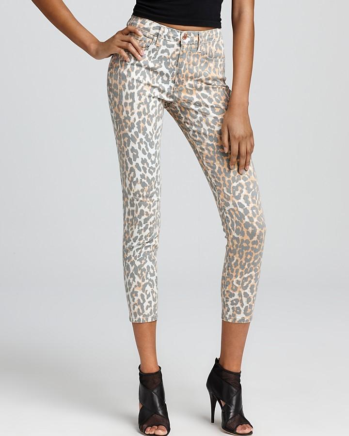 Joe's Jeans Skinny Jeans - Ankle Skinny Jeans in Leopard