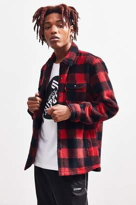 Levi's Levi's Plaid Sherpa Button-Down Shirt