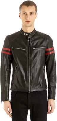 Belstaff Thurlstone Tiger Biker Leather Jacket