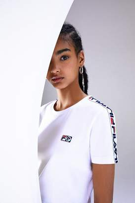 Fila + Pierre Cardin Short Sleeve Cropped Tee