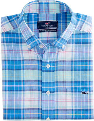 Vineyard Vines Blufftop Plaid Classic Tucker Shirt