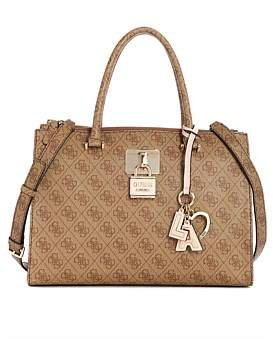 6a3075f2aaf0 Guess Bags Satchel - ShopStyle Australia