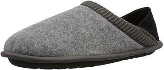 Dearfoams Men's Felted Closed Back Slipper