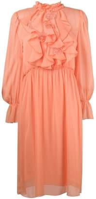See by Chloe frilly midi dress