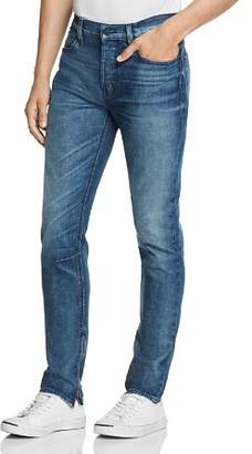 Hudson Vaughn Ankle-Zip Skinny Fit Jeans in Franklin