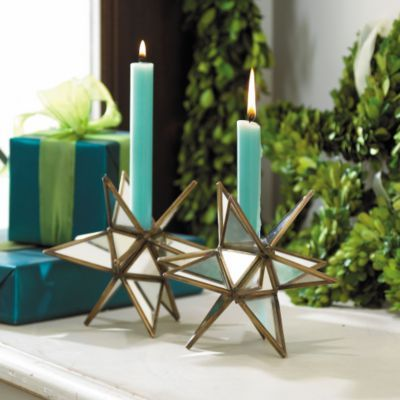 Star Candle Holders