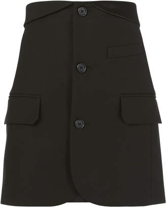 Helmut Lang Blazer Mini Skirt