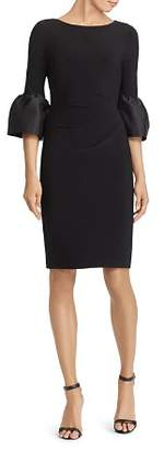 Ralph Lauren Taffeta-Jersey Dress