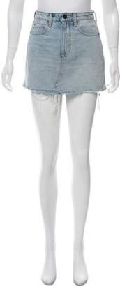 Alexander Wang Denim x Bite Denim Skirt