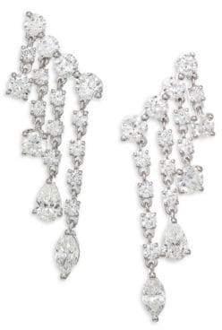 Anita Ko Diamond& White Gold Rain Drop Earrings