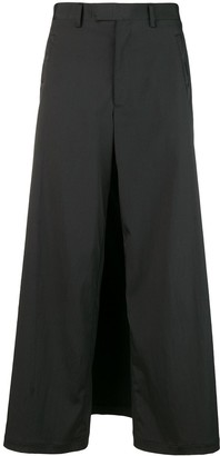 Jean Paul Gaultier Pre-Owned back apron trousers