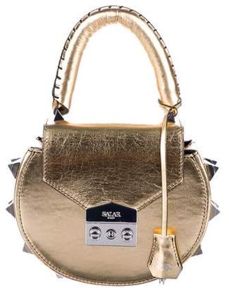Salar Metallic Mimi Satchel