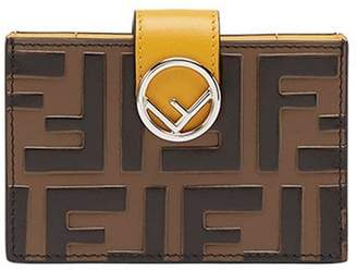 Fendi F card holder