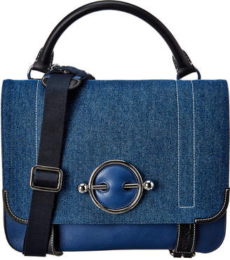 J.W.Anderson J. W. Anderson Disc Leather Top Handle Satchel