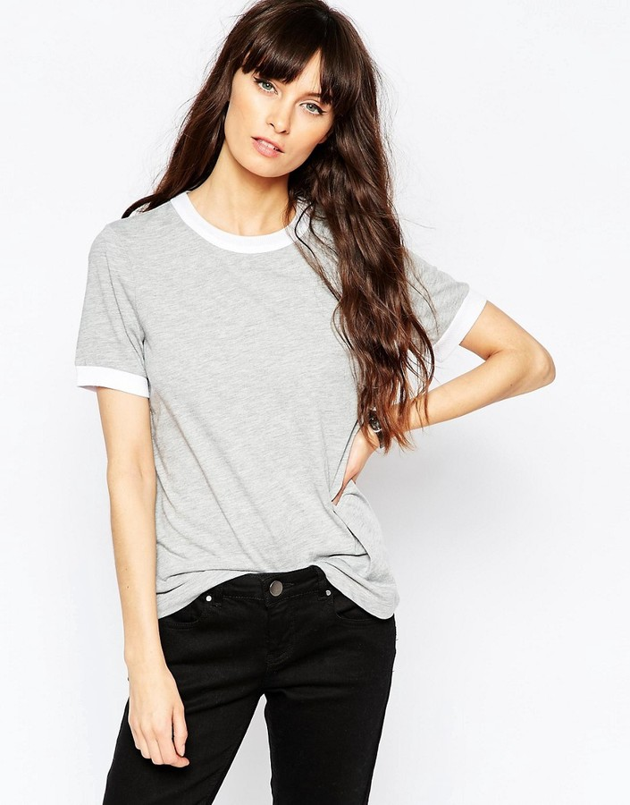 ASOS COLLECTION ASOS Tipped T-Shirt
