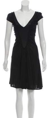 CNC Costume National Silk Knee-Length Dress w/ Tags