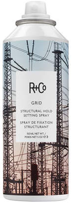 R+Co GRID Structural Hold Setting Hair Spray, 5 oz. $29 thestylecure.com