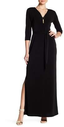 Leota Perfect Wrap Maxi Dress