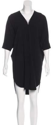 Alexander Wang Embellished Dolman Dress Black Embellished Dolman Dress