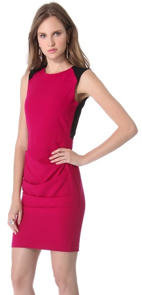 Yigal Azrouel Novelty Crepe Dress