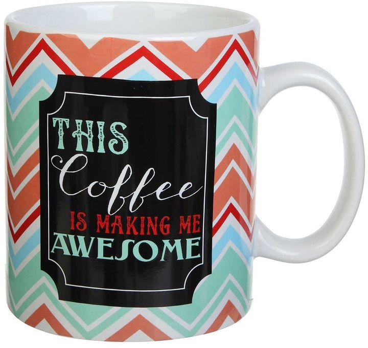 "Clay Art 18-oz. ""This Coffee Is Making Me Awesome"" Mug"