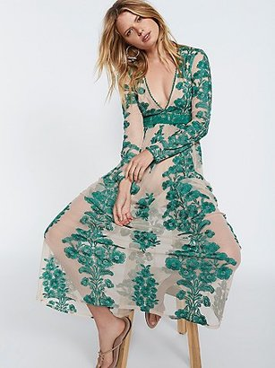 Temecula Maxi Dress by For Love & Lemons at Free People $250 thestylecure.com