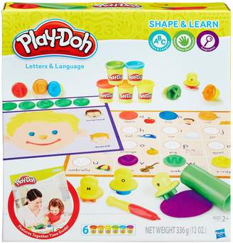 Play Doh Play-Doh Shape & Learn Letters & Language Set
