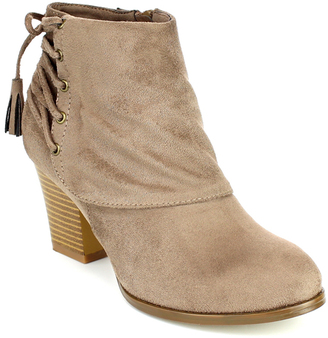 Taupe Tammy Bootie $45.99 thestylecure.com