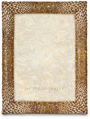 """Jay Strongwater Feather 5"""" x 7"""" Picture Frame"""