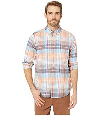 Nautica Men's Stretch Long Sleeve Casual Plaid Button Down Shirt