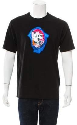 Versus Bruce Kiss Graphic Appliqué T-Shirt