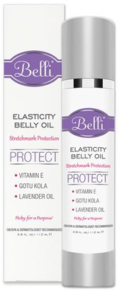 Belli Skincare Maternity 'Elasticity' Belly Oil For Stretch Mark Protection $34 thestylecure.com