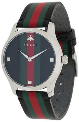 5ad4aff5c55 Gucci Black Face Watches - ShopStyle