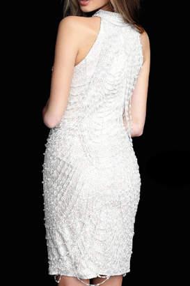 Jovani High Neck Embellished Dress