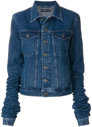 Y/Project Y / Project denim jacket with exaggerated sleeves