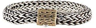 John Hardy Two-Tone Classic Chain Bracelet $945 thestylecure.com
