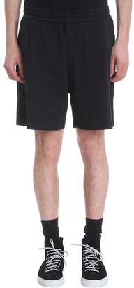 Low Brand Black Cotton Shorts