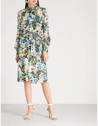 Erdem Amelia silk-crepe dress