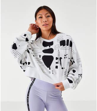 Nike Women's Crop Crew Sweatshirt
