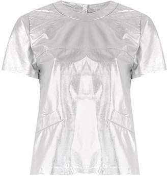 Andrea Bogosian leather t-shirt