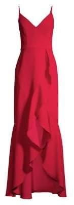 Xscape Evenings Ruffled Gown Dress
