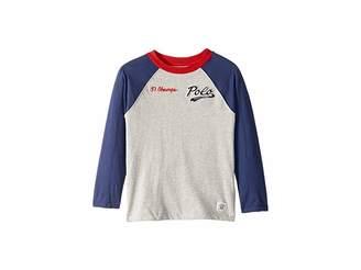 Polo Ralph Lauren Cotton Jersey Baseball T-Shirt (Little Kids/Big Kids)