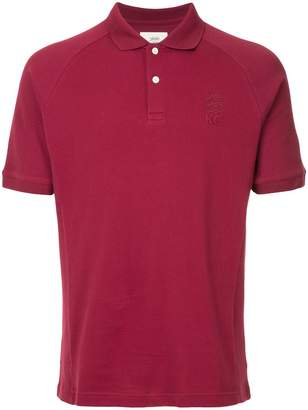 Kent & Curwen logo embroidered polo shirt