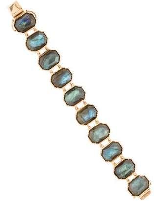 Irene Neuwirth 18K Labradorite Link Bracelet