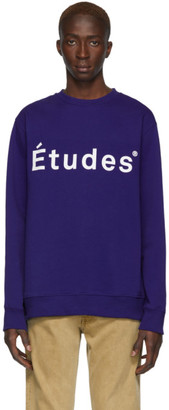 Études Blue Story Sweatshirt