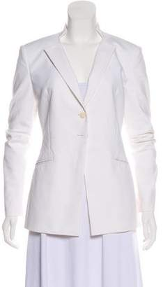 Tamara Mellon Structured-Shoulder Lightweight Blazer